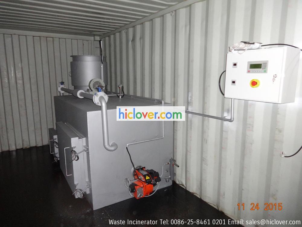 mobile incinerator china