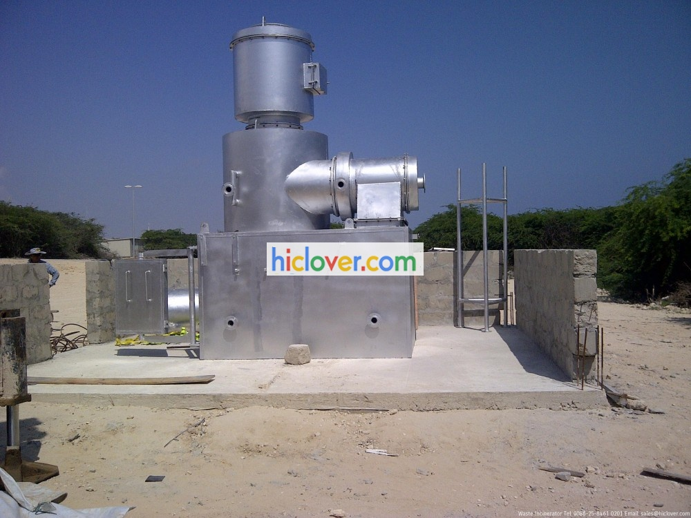 double chamber incinerator